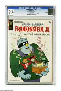 """Frankenstein, Jr. #1 File Copy (Gold Key, 1967) CGC NM 9.4. Only issue. Overstreet calls this book """"scarce."""" O..."""