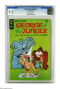 George of the Jungle #1 File Copy (Gold Key, 1969) CGC NM- 9.2 Off-white to white pages. Overstreet 2005 NM- 9.2 value =...