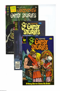 Grimm's Ghost Stories Group (Gold Key/Whitman 1972-82) Condition: Average VF. More ghastly goings-on in a large box lot...