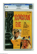 Silver Age (1956-1969):Mystery, Hawaiian Eye #1 File Copy (Gold Key, 1963) CGC VF 8.0. Troy Donahueand Connie Stevens photo cover. Overstreet 2005 VF 8.0 v...