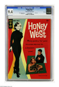 Silver Age (1956-1969):Adventure, Honey West #1 File Copy (Gold Key, 1966) CGC NM 9.4. Photo cover of Anne Francis as Honey West. Jack Sparling art. Overstree...