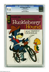 Huckleberry Hound #29 File Copy (Gold Key, 1967) CGC NM+ 9.6 Off-white to white pages. Tied with one other copy for high...