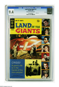 Land of the Giants #5 File Copy (Gold Key, 1969) CGC NM 9.4 Off-white to white pages. Photo cover. Tied with one other c...
