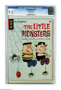 Little Monsters #2 File Copy (Gold Key, 1965) CGC NM- 9.2 Off-white pages. Overstreet 2005 NM- 9.2 value = $40. CGC cens...