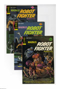 Silver Age (1956-1969):Superhero, Magnus Robot Fighter #35-41 Box Lot (Gold Key, 1974-75) Condition: Average VF/NM. This full short box includes Magnus #3...