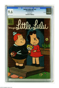 Silver Age (1956-1969):Cartoon Character, Marge's Little Lulu #122 File Copy (Dell, 1958) CGC NM+ 9.6 Off-white pages. Highest grade yet assigned by CGC for this issu...