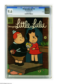 Marge's Little Lulu #122 File Copy (Dell, 1958) CGC NM+ 9.6 Off-white pages. Highest grade yet assigned by CGC for this...