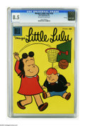 Silver Age (1956-1969):Cartoon Character, Marge's Little Lulu #123 File Copy (Dell, 1958) CGC VF+ 8.5 Off-white to white pages. First appearance of Fifi. Overstreet 2...