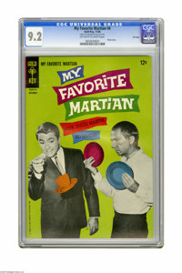 My Favorite Martian #6 File Copy (Gold Key, 1965) CGC NM- 9.2 Off-white to white pages. Bill Bixby and Ray Walston photo...