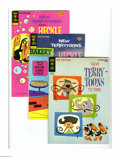Bronze Age (1970-1979):Cartoon Character, New Terrytoons Group (Gold Key, 1962-77) Condition: Average VF.This full short box lot includes New Terrytoons #1, 7 (2...