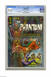 Phantom #10 File Copy (Gold Key, 1965) CGC VF/NM 9.0 Off-white to white pages. Painted cover by George Wilson. Overstree...