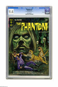 Silver Age (1956-1969):Superhero, Phantom #12 File Copy (Gold Key, 1965) CGC NM 9.4 Off-white pages. Track Hunter begins. Overstreet 2005 NM- 9.2 value = $80....