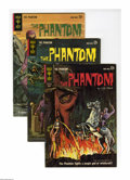 Silver Age (1956-1969):Adventure, Phantom #2-4 Group (Gold Key, 1963) Condition: Average VF. This group contains two copies of #2, two copies of #3, and one c... (Total: 5)