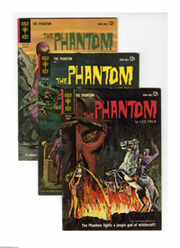 Phantom #2-4 Group (Gold Key, 1963) Condition: Average VF. This group contains two copies of #2, two copies of #3, and o...