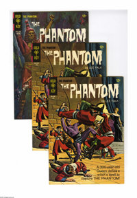 Phantom #10 and 17 Group (Gold Key, 1965-66) Condition: Average VF. This group contains two copies of #10 and six copies...
