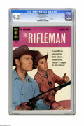 Silver Age (1956-1969):Western, The Rifleman #18 File Copy (Gold Key, 1964) CGC NM- 9.2 Off-white pages. Chuck Conners photo cover. Overstreet 2005 NM- 9.2 ...