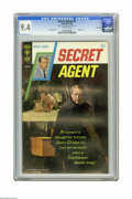 Silver Age (1956-1969):Adventure, Secret Agent #2 File Copy (Gold Key, 1968) CGC NM 9.4 Off-white pages. Photo cover. Sal Trapani art. Overstreet 2005 NM- 9.2...