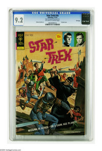 Star Trek #16 File Copy (Gold Key, 1972) CGC NM- 9.2 Off-white to white pages. Painted cover. Alberto Giolitti art. Only...