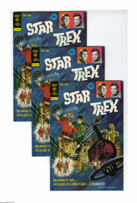 Star Trek #18 Multiple Copies (Gold Key, 1973) Condition: Average VF. Included are 12 copies of issue #18, with a painte...