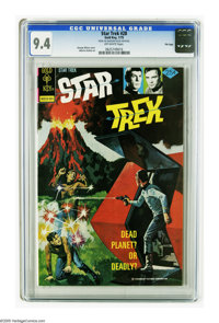 Star Trek #28 File Copy (Gold Key, 1975) CGC NM 9.4 Off-white pages. Painted cover by George Wilson. Alberto Giolitti ar...