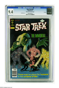 Star Trek #47 File Copy (Gold Key, 1977) CGC NM 9.4 Off-white to white pages. Al McWilliams art. Overstreet 2005 NM- 9.2...