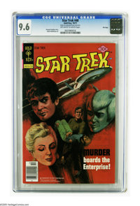 Star Trek #48 File Copy (Gold Key, 1977) CGC NM+ 9.6 Off-white to white pages. An outstanding copy. Tied with three othe...