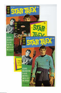 Star Trek #8 and 9 Group (Gold Key, 1970-71) Condition: Average VF/NM. This group contains two copies of #8 and four cop...
