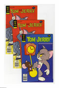 Bronze Age (1970-1979):Cartoon Character, Tom and Jerry Group (Gold Key, 1969-80) Condition: Average VF/NM.This full short box includes Tom and Jerry #247 (19 co...