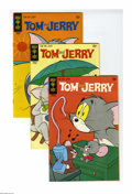 Bronze Age (1970-1979):Cartoon Character, Tom and Jerry Group (Gold Key, 1970-79) Condition: Average VF/NM.Included in this full short box are Tom and Jerry #251...