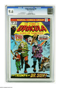 Bronze Age (1970-1979):Horror, Tomb of Dracula #40 (Marvel, 1976) CGC NM+ 9.6 White pages. GeneColan cover and art. Overstreet 2005 NM- 9.2 value = $20. C...
