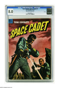 Golden Age (1938-1955):Science Fiction, Tom Corbett Space Cadet #7 File Copy (Dell, 1953) CGC VF 8.0Off-white to white pages. Just one copy of this issue has recei...