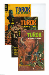 Turok, Son of Stone File Copies Box Lot (Gold Key, 1968-81) Condition: Average NM-. This short box consists of 88 comics...