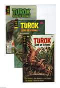 Bronze Age (1970-1979):Superhero, Turok, Son of Stone File Copies Box Lot (Gold Key, 1970-81) Condition: Average NM-. This short box contains 125 comics: #68 ... (Total: 125 Comic Books)