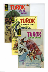 Turok, Son of Stone File Copies Box Lot (Gold Key, 1971-81) Condition: Average NM-. This short box consists of 110 comic...