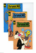 Silver Age (1956-1969):Cartoon Character, Tweety and Sylvester Group (Dell/Gold Key/Whitman, 1960-84) Condition: Average VF/NM. Included in this large group are Twe...