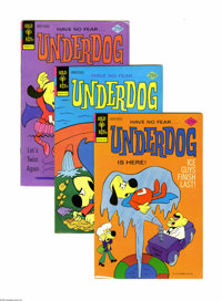 Underdog Group (Gold Key, 1975-78) Condition: Average VF+. High grade copies of issues #2 through #19 of the Gold Key se...