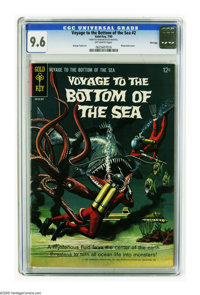 Voyage to the Bottom of the Sea #2 File copy (Gold Key, 1965) CGC NM+ 9.6 Off-white pages. Beautiful copy. Highest grade...
