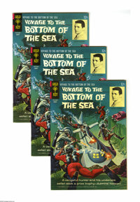Voyage to the Bottom of the Sea #5 Group (Gold Key, 1966) Condition: Average VF/NM. This group contains six copies of is...