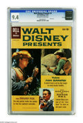 Silver Age (1956-1969):Adventure, Walt Disney Presents #3 File Copy (Dell, 1960) CGC NM 9.4 Off-white pages. Photo cover. The Swamp Fox, Texas John Slaughter,...