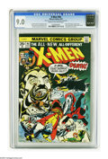 Bronze Age (1970-1979):Superhero, X-Men #94 (Marvel, 1975) CGC VF/NM 9.0 Cream to off-white pages. Debut of the new X-Men in this series. Second appearance of...