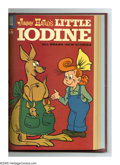 Little Iodine #37-48 Bound Volume (Dell, 1957-60). This volume of trimmed and hardbound Western Publishing file copies i...