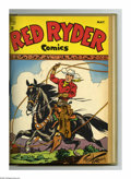 Golden Age (1938-1955):Western, Red Ryder Comics #61-72 Bound Volume (Dell, 1948-49). These are Western Publishing file copies that have been trimmed and bo...