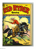 Golden Age (1938-1955):Western, Red Ryder Comics #73-84 Bound Volume (Dell, 1949-50). These are Western Publishing file copies that have been trimmed and bo...