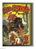 Golden Age (1938-1955):Western, Red Ryder Comics #85-96 Bound Volume (Dell, 1950-51). These are Western Publishing file copies that have been trimmed and bo...