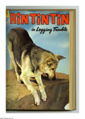 Golden Age (1938-1955):Adventure, Rin Tin Tin #4-15 Bound Volume (Dell, 1954-56). These are Western Publishing file copies that have been trimmed and bound in...