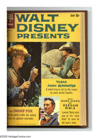 Walt Disney Presents #2-6 Bound Volume (Dell, 1960-61). This volume features Western Publishing file copies of Walt Disn...