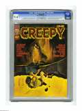 Magazines:Horror, Creepy #61 (Warren, 1974) CGC NM 9.4 Off-white pages. Cover art by Manuel Sanjulian. Eight page color story by Richard Corbe...