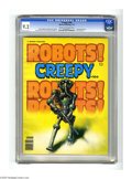 Bronze Age (1970-1979):Horror, Creepy #104 (Warren, 1979) CGC NM- 9.2 Cream to off-white pages.Robot cover by Ken Kelly. Artists include: Alfredo Alcala, ...