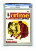 Magazines:Crime, Crime Illustrated #2 Gaines File pedigree 9/12 (EC, 1956) CGC VF/NM9.0 Off-white to white pages. Reed Crandall cover. Crand...