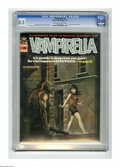 Magazines:Horror, Vampirella #6 (Warren, 1970) CGC VF+ 8.5 Off-white to white pages. Ken Kelly cover. Jerry Grandenetti, Jack Sparling, Mike R...
